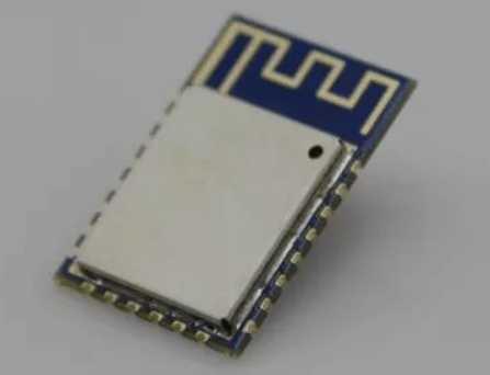 Metal shield cover on the surface of module