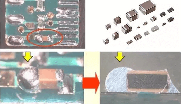 bending and cracking of PCB board