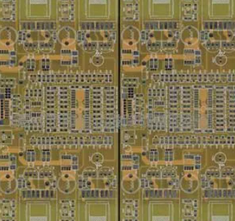 Bare copper PCB
